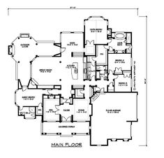 Main Floor Plan With changes ...omit / change den foyer dining area
