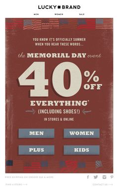 memorial day email subject lines