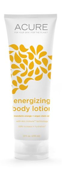 mandarin orange + mango lotion