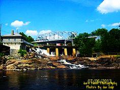 Bracebridge Falls in Bracebridge Ontario Photography Photos, Ontario, River, Mansions, House Styles, Heart, Manor Houses, Villas, Mansion