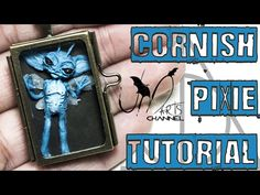 Harry Potter Cornish Pixie polymer clay tutorial