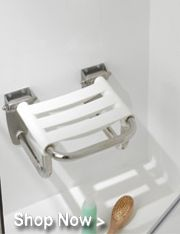 Fantastic assortment of handicap grab bars, toilet safety rails, bathroom safety bars and bathtub grab bars in a variety of colors and sizes from the leading manufactures like Invisia, HealthCraft & Ponte Giulio.  http://www.universaldesignspecialists.com/bathroom-products.html