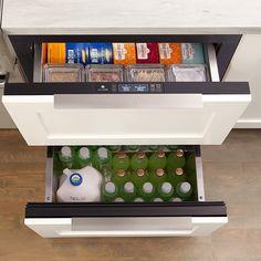 U-Line Refrigerator Drawer Models keep your food fresher longer