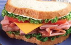 If your looking for some great tips on making sandwiches you'll find them here. Sandwiches don't have to be boring. You can use the tips and suggestions here to make your sandwiches oh so delicious. Deli Sandwiches, Ham Sandwich Recipes, Sandwich Day, Types Of Sandwiches, Delicious Sandwiches, Cucumber Sandwiches, Lunch Recipes, Delicious Recipes, Cooking Recipes