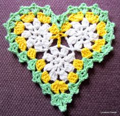 Lunamon Design: Hjerte - Heart