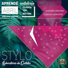 """flyer para """"STYLO LABORATORIO DE COCTELERIA"""""""