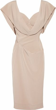 Vivienne Westwood ~ Crepe De Chine Dress. Love it. Looks like something Jolie would wear in the tourist.
