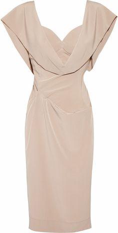 Crepe De Chine Dress Vivienne Westwood