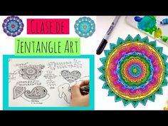 Aprende a hacer Zentangle Art y Mandalas - YouTube