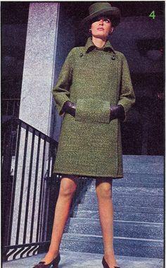 moda - 1968 - cappotto di baratta by sonobugiardo, via Flickr