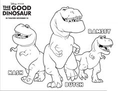 The Good Dinosaur New Activity Sheets Now Available