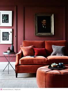 The Top Interior Design Trends for How Many are in Your Home? Interior Design Trends Top Tips From the Experts - LuxPad Living Room Designs, Living Room Decor, Living Spaces, Bedroom Decor, Entryway Decor, Master Bedroom, Mauve Living Room, Burgundy Living Room, Interior Design Living Room Warm