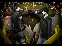 Shintaro and Kuroha    Kagerou Project