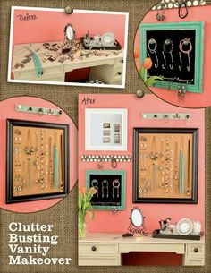 Clutter free :)