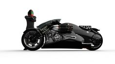 concept+motorcycles | Tryton MM2 motorcycle concept secretly loves medieval weapons ...