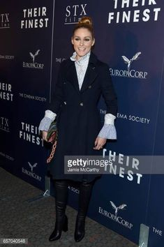 Olivia Palermo attends the Premiere of 'Their Finest' hosted by STXfilms and EuropaCorp with the Cinema Society at SVA Theatre on March 23 2017 in...