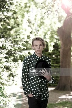Singer, musician and actor Jamie Campbell Bower is photographed for Marie Claire magazine on June 4, 2013 in London, England.