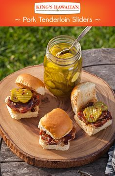 So many flavors packed tastefully on one mini roll. Your Memorial Day BBQ guests will thank you in an instant.