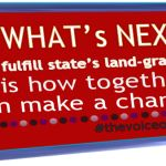 WHAT's NEXT? Time to fulfill state's land-grant promise