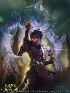 Artist: Unknown name aka docatto - Title: summoner - Card: Rising Novice Summoner