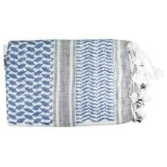 Proforce Shemagh Scarf Blue-White Traditional Desert Head Wear 100 Percent Cotton 44 X 44 Inch by Pro Force. $17.48. Currently used by US and British Forces in Iraq and Afghanistan.