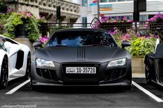 Audi R8 by ABT. Does it get any better than this?! Carporn to the max!