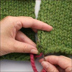 Three-Needle Bind-Off