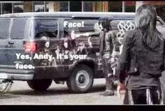 XD you can tell he is like a little kidXD OH LOOK my face. -Andy-