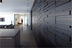 Pitsou Kedem designed this 240 sqm flat in the Antokolsky Project, Tel Aviv Loft Design, Wall Design, House Design, Pitsou Kedem, Industrial House, Rustic Industrial, 3d Wall Panels, Home Upgrades, Texture Design