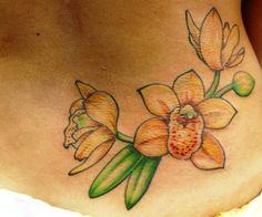 orchid tattoo tattoo ideas   tattoos picture orchid tattoo Tattoo Ideas, Tattoo Designs, Orchid Tattoo, Color Tattoo, Picture Tattoos, Girly Girl, Orchids, Tatting, Body Art