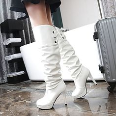 89e1e88b890 Γυναικεία παπούτσια-Μπότες-Γραφείο & Δουλειά Φόρεμα Καθημερινό-Τακούνι  Στιλέτο Πλατφόρμα-Πλατφόρμες