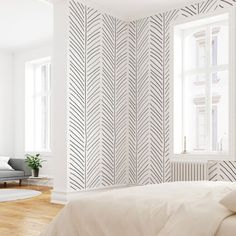 Black and White Geometric Wallpaper, Pre-pasted Wallpaper, Modern Interiors, Herringbone Pattern – Home Office Wallpaper Removing Old Wallpaper, Self Adhesive Wallpaper, Hand Painted Wallpaper, Prepasted Wallpaper, Trendy Wallpaper, Bedroom Wallpaper Modern, Office Wallpaper, Rap Wallpaper, Wallpaper Ideas