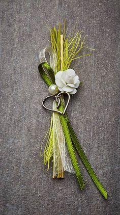 Hochzeitsanstecker Monika - Basteln & Schenken
