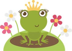 Frog Princess SVG