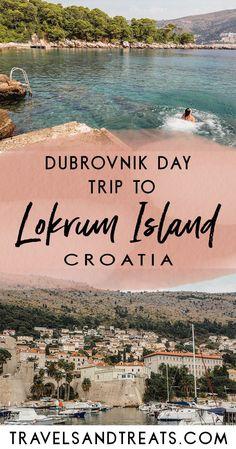 Dubrovnik Day Trip to Lokrum Island, Croatia. What to do in Lokrum Island, Croatia. Things to do in Dubrovnik.