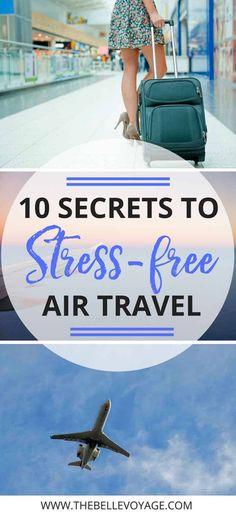 Flying Tips | Travel Tips | Air travel tips | Travel hacks | Airplane tips for travel | Airplane tips for long flights | Airport tips and hacks