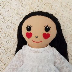 Check out this item in my Etsy shop https://www.etsy.com/au/listing/580655396/fabric-doll-handmade-cloth-dolls