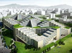 building space life  | ... Wall Apartment-Factory is a Green Destination for Life, Work and Play