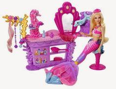 barbie playset   Playset Barbie Mermaid Salon 2014 - barbie-movies Photo
