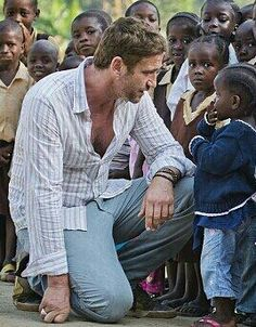 One of the most beautiful and sweetest pictures ever of Gerry to me while he was in Liberia ♥