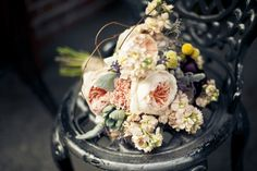 A lovely, rustic mix | Hannahelaine Photography