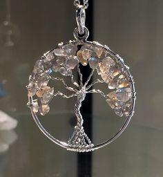 New! Labradorite Tree of Life wire wrap Pendant!