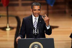 haha! ROCK ON, Obama! Lol, had to pin it!