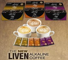 About Liven Coffee - Ceuticals The World's First Alkaline Coffee-Ceuticals with lots of health benefits coming from . Heath Care, Acide Aminé, Complete Nutrition, Alkaline Foods, Amai, Coffee Recipes, How To Stay Healthy, Health Benefits, Kenya
