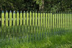 alyson shotz - mirror fence