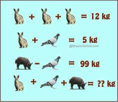 Hmmmm who can solve this Math For Kids, Fun Math, Math Games, Math Activities, Maths Puzzles, Math Worksheets, Funny Puzzles, Sistema Linear, Math Talk