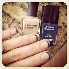 the new french mani