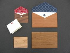 wood envelope