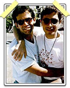 Judd Winick and Pedro Zamora