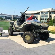 Halo Warthog in real life